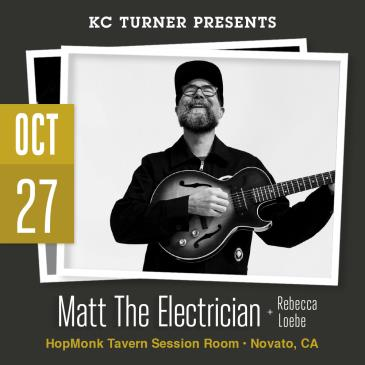 CANCELLED - Matt The Electrician + Rebecca Loebe: Main Image