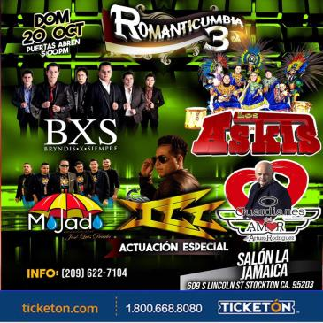 ROMANTICUMBIA 3 EN STOCKTON