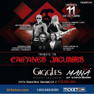 JAGUARES / CAIFANES EL TRIBUTO