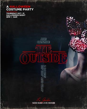 "Halloween Night at ""The Outside"": Main Image"