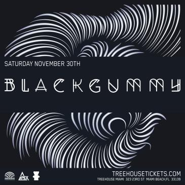 BlackGummy @ Treehouse Miami: Main Image