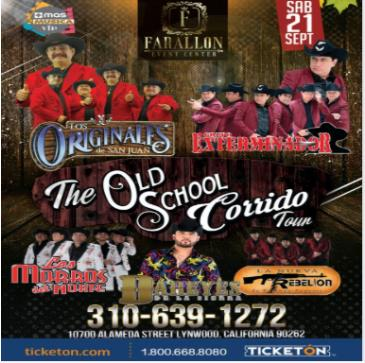 THE OLD SCHOOL CORRIDO TOUR: Main Image