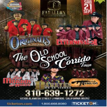THE OLD SCHOOL CORRIDO TOUR