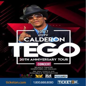 TEGO CALDERON 20TH ANNIVERSARY TOUR: Main Image