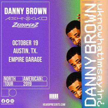 Danny Brown with Ashnikko and ZelooperZ: Main Image