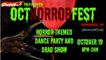 OctHorrorFest - Horror Themed Dance Party & Drag Show: Main Image