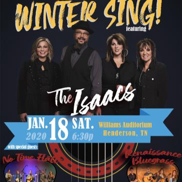WYN 106.9 presents Winter Sing ft. The Isaacs-img
