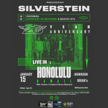 Silverstein presented by Underworld Events: Main Image