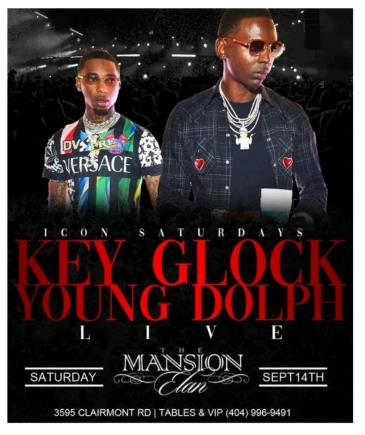 Young Dolph & Key Glock LIVE: Main Image