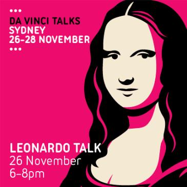 Da Vinci Talks: Leonardo Talk: Main Image