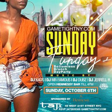 Taj Lounge NYC Hip Hop vs. Reggae Sunday Funday Brunch Party-img