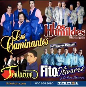 LOS CAMINANTES, LOS HUMILDES y FITO OLIVARES: Main Image