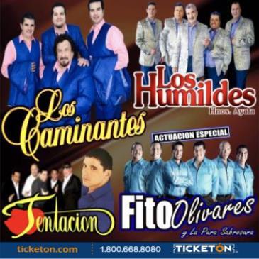 LOS CAMINANTES, LOS HUMILDES y FITO OLIVARES