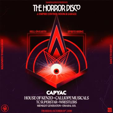 The Horror Disco featuring CAPYAC: Main Image