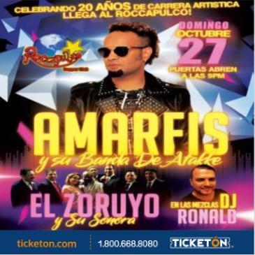 AMARFIS Y SU BANDA DE ATAKKE + EL ZORUYO Y SU SONORA