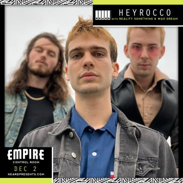 Heyrocco with Reality Something, Wax Dream: Main Image