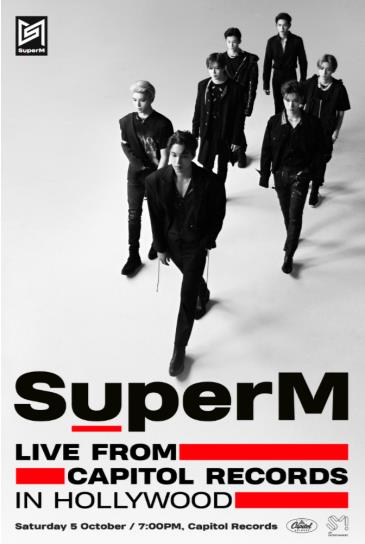 SuperM: Live from Capitol Records in Hollywood: Main Image