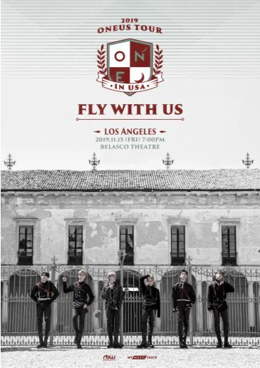 2019 ONEUS 'FLY WITH US' TOUR IN LOS ANGELES: Main Image