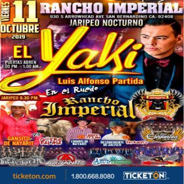 JARIPEO BAILE NOCTURNO CON EL YAKI