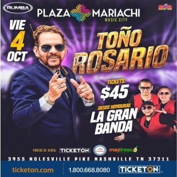 TONO ROSARIO Y LA GRAN BANDA: Main Image