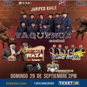 CANCELED-VAQUEROS MUSICAL: Main Image