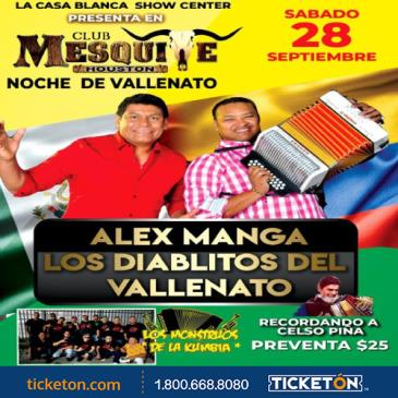 ALEX MANGA LOS DIABLITOS DEL VALLENATO: Main Image