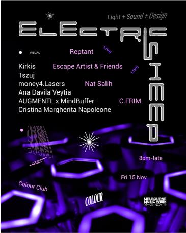 Electric Sheep: Sound + Light + Design: Main Image