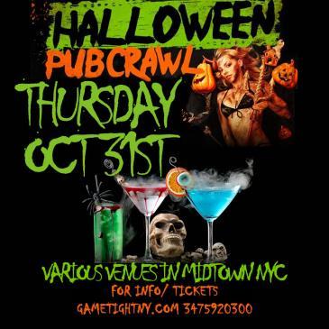 NYC Halloween Pub Crawl 2019 only $15-img