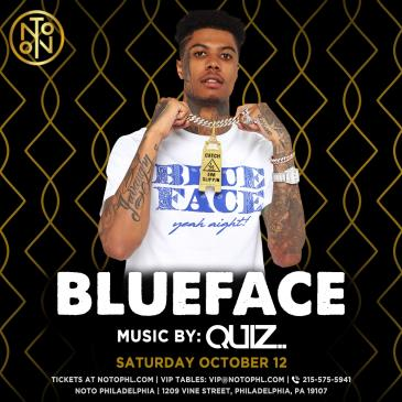 BlueFace: Music By Quiz: Main Image