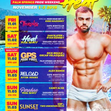 DESERT HEAT - Palm Springs Pride Weekend-img