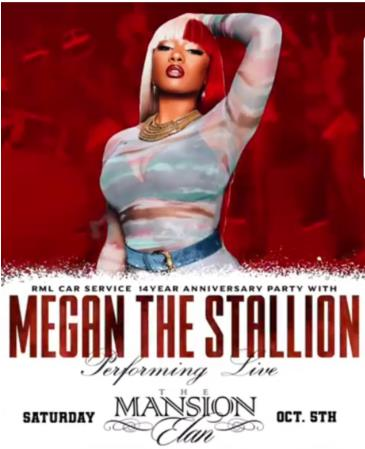 Megan The Stallion Performing Live: Main Image