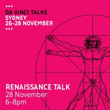 Da Vinci Talks: Renaissance Talk: Main Image