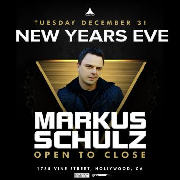 NYE2020: Markus Schulz - Open to Close: Main Image