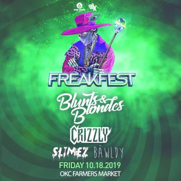 FREAKFEST feat. Blunts & Blondes - OKLAHOMA CITY-img