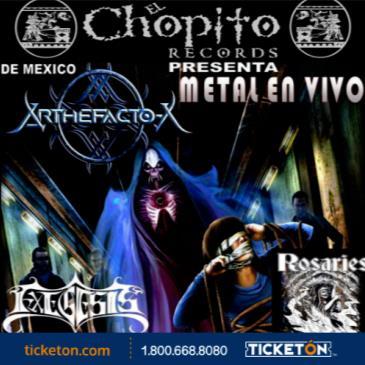 ARTHEFACTO X METAL EN VIVO