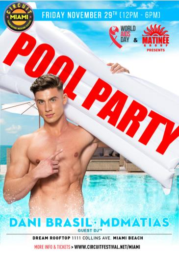 World AIDS Day Pool Party: Main Image