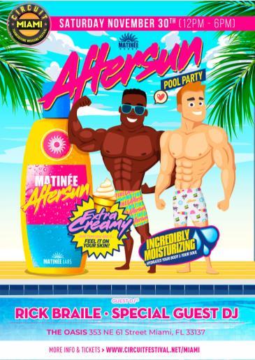 Matinée Aftersun Pool Party: Main Image