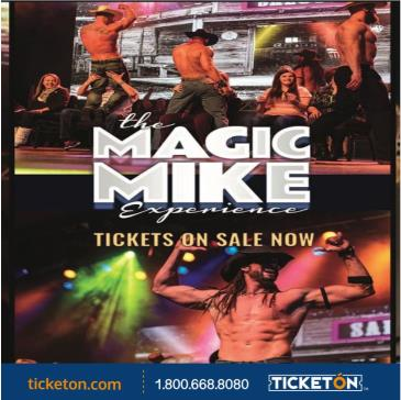 THE MAGIC MIKE EXPERIENCE: Main Image