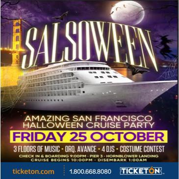 HALLOWEEN CRUISE PARTY!: Main Image