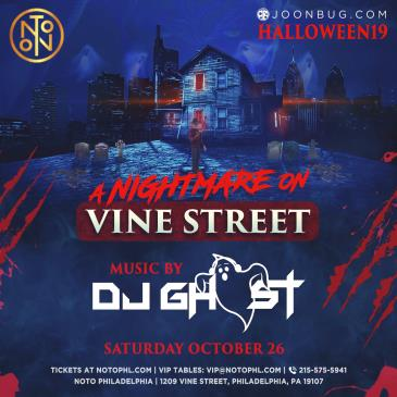 A Nightmare on Vine Street: DJ Ghost: Main Image
