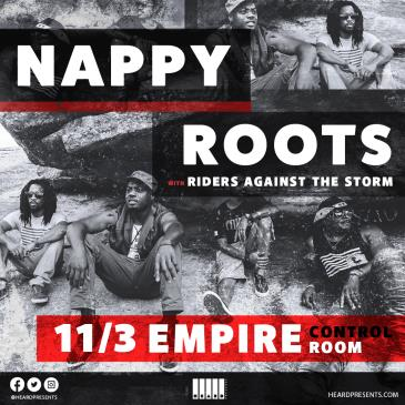 Nappy Roots with Riders Against the Storm: Main Image