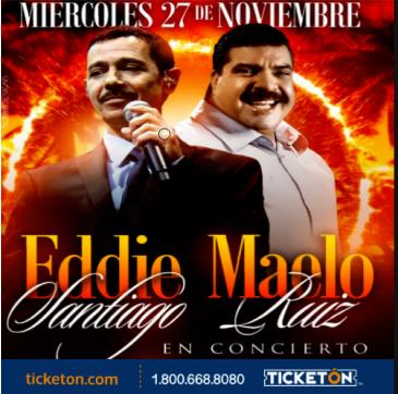 EDDIE SANTIAGO Y MAELO RUIZ: Main Image