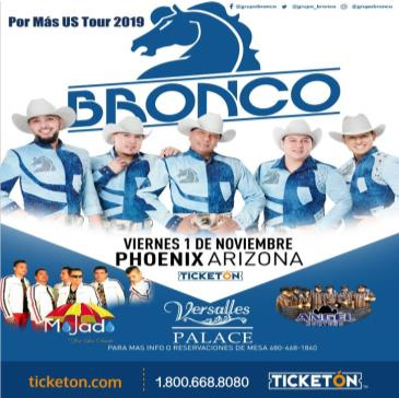 BRONCO MAS USA TOUR 2019: Main Image
