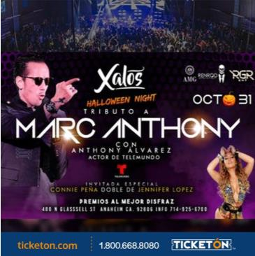 MARC ANTHONY & JLO TRIBUTE HALLOWEEN NIGHT: Main Image