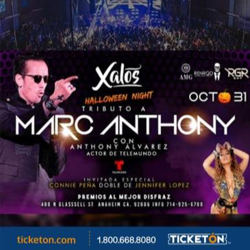 MARC ANTHONY & JLO TRIBUTE HALLOWEEN NIGHT