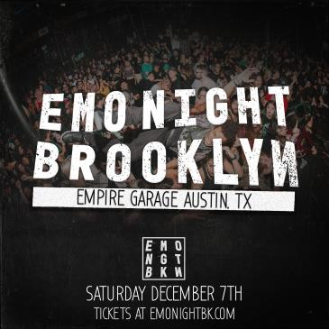 Emo Night Brooklyn ft. Special Guests: Main Image