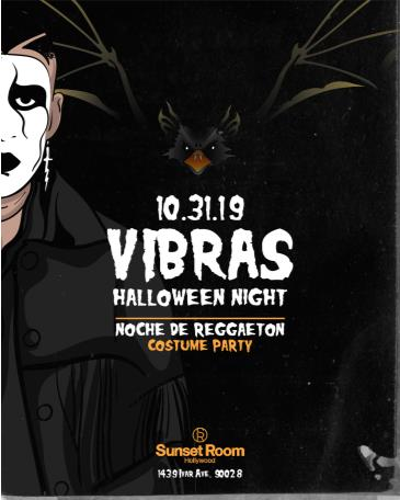 Vibras Reggaeton Halloween Party: Main Image
