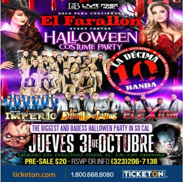 CANCELADO HALLOWEEN PARTY CON LA DECIMA: Main Image