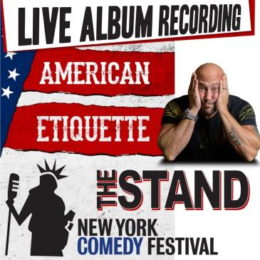 NYCF Presents: Aaron Berg's American Etiquette Recording!: Main Image