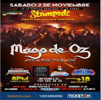 MAGO DE OZ: Main Image